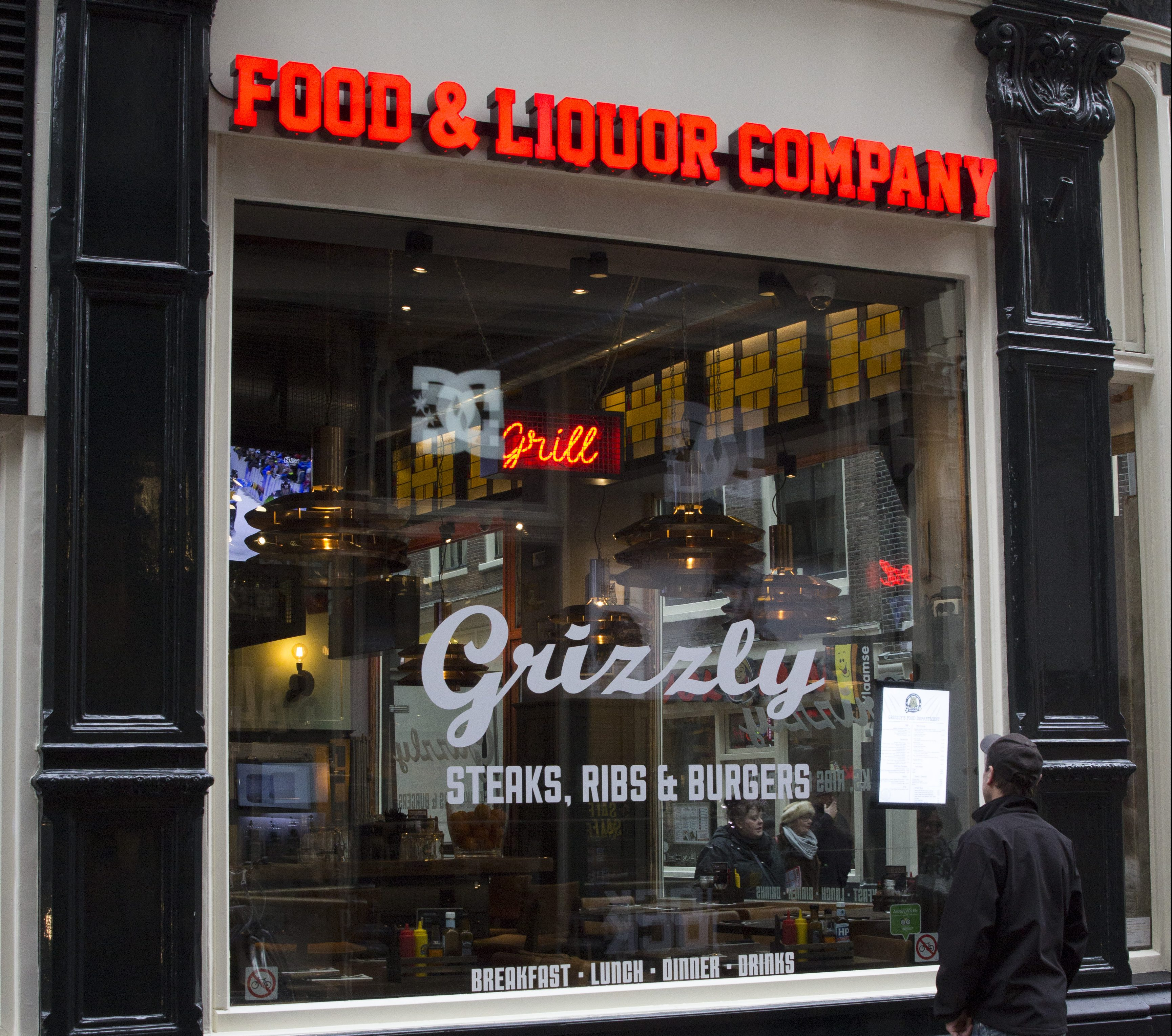 Afbeelding Grizzly American Restaurant - QuePasaNL